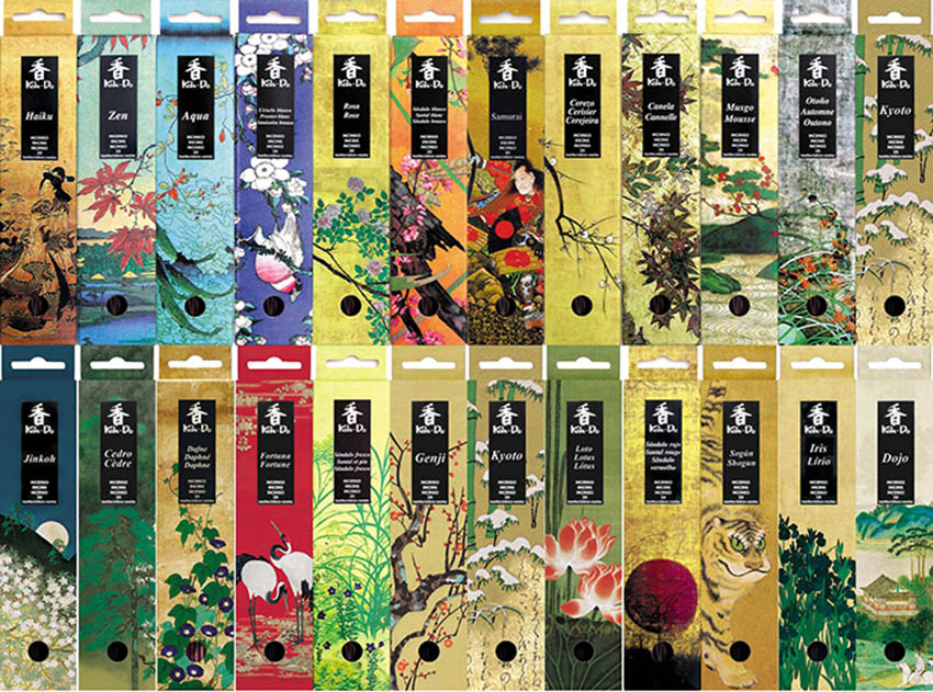 Koh-Do Japanese Incense Sticks | Nippon Kodo | Baieido | sold by Vectis Karma