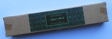 Nepal Musk Indian Incense | Pure Incense Absolute | 50 gram Box