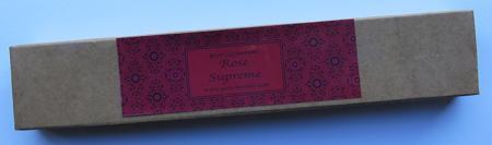Rose Supreme Indian Incense | Pure Incense Absolute | 50 gram Box