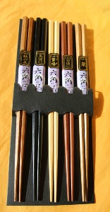 Chopsticks | 5 pair pack | Boxed | Tokyo style | Japanese