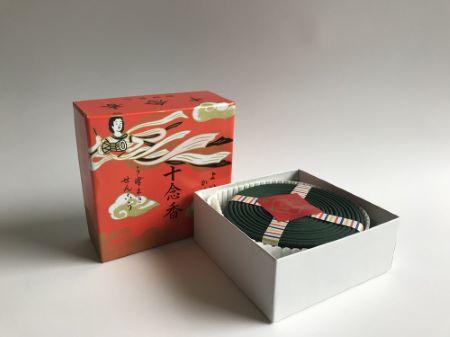 Japanese Incense Sticks | Baieido | Junenkoh | 14 Coil Incense