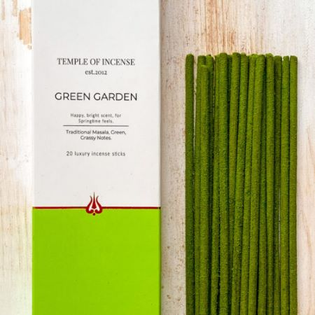 Temple of Incense   Green Garden   20 sticks