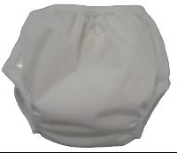 Culotte d'apprentissage lavable Com les grands - Snaps - Blanc