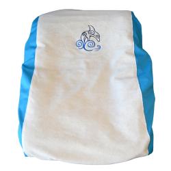 Housse matelas à langer Bleu - Dauphin
