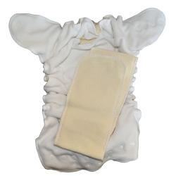 Couche Lavable Lulu Dodo XL 12/20 kg Blanc - Chanvre