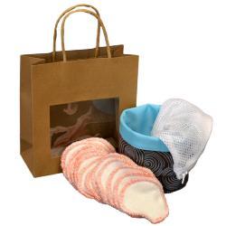 pochon spirales + filet lavage + lingettes au choix