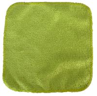 Débarbouillette Lavable Bébé Verte - Bambou