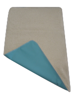 Tapis de change Nomade en Coton Bio - Turquoise
