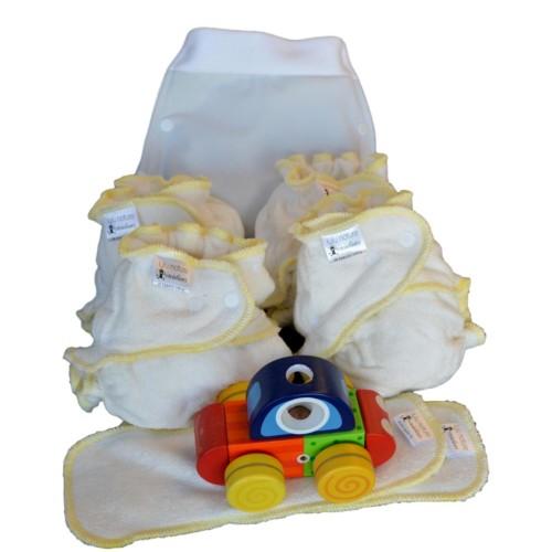 Mini Pack Naissance couche lavable Bébé Bambou + Boxer T.S