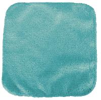 debarbouillette carrée 20 cm - Bambou Bleu