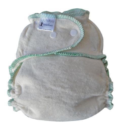 Couche lavable Lucie Nature 3/15 kg Chanvre/Coton Bio
