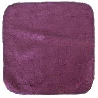 debarbouillette carrée 20 cm - Bambou Violet