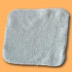 debarbouillette carrée 20 cm - Coton Bio