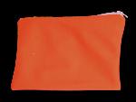 pochette à zip, trousse de toilette et maquillage, FEMINI - Orange