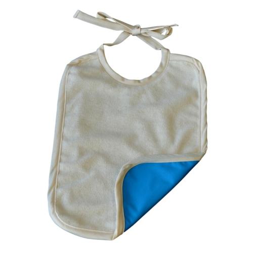 Grand bavoir Coton Biologique Imperméable Aqua