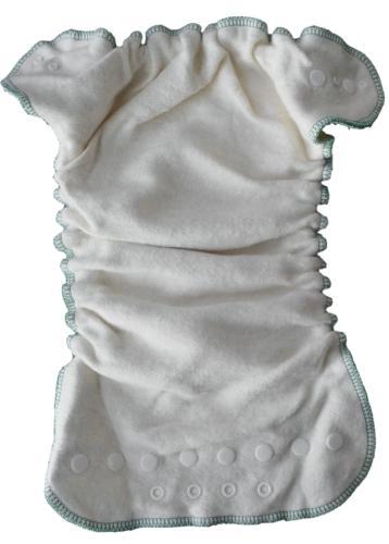 Mini Pack 4 couches lavables Evolutive Lucie nature chanvre + 1 Boxer