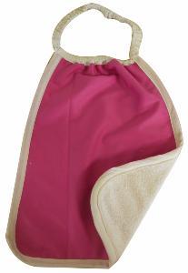 Serviette Maternelle Coton Biologique Imperméable FRAMBOISE