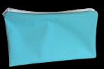 pochette à zip, trousse de toilette et maquillage, FEMINI - Turquoise