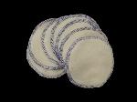Lot  7 maxi disques Démaquillant microfibre blanc