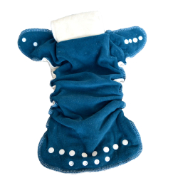 Couche Lavable Lulu Dodo 4/12 kg bleu - Chanvre