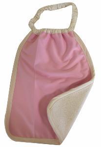 Serviette Maternelle Coton Biologique Imperméable ROSE