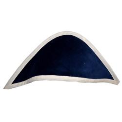 cape de bain Coton Bio - Capuche bleu Marine