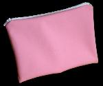pochette à zip, trousse de toilette et maquillage, FEMINI - Rose