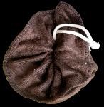 Tawashi, fleur de douche, bambou Chocolat