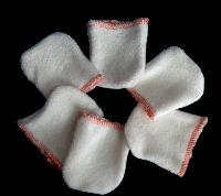 Lot mini gants démaquillants x 6 fin de série