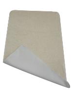 Tapis de change Nomade en Coton Bio - Blanc