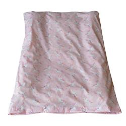 Housse matelas à langer classique - imprimée licorne