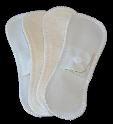Lot 4 Mini protege slip lavable imperméable - Chanvre