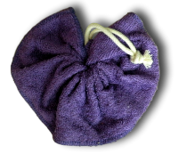 Tawashi, fleur de douche, bambou Violet