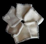 Lot mini gants démaquillants x 6