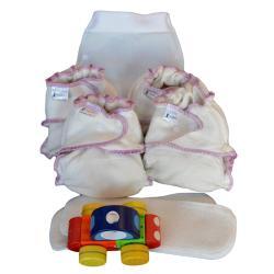 Mini Pack Naissance couche lavable Bébé Nature - Chanvre + Boxer T.S