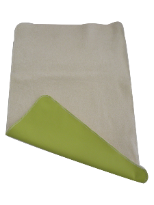 Tapis de change Nomade en Coton Bio - Vert
