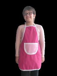 tablier imperméable enfant Framboise