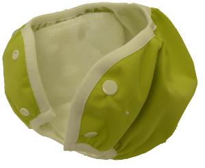 Culotte d'apprentissage lavable Com les grands - Snaps - Vert