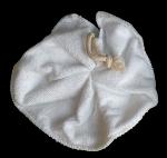 Tawashi, fleur de douche, Microfibre Blanc