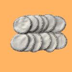 Coton Démaquillant Lavable Bio - Lot de lingettes