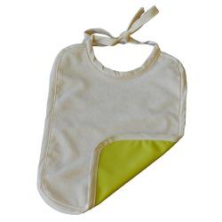 Grand bavoir Coton Biologique Imperméable Vert