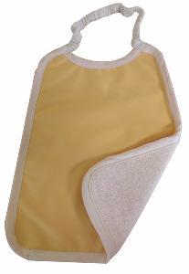 Serviette Maternelle Coton Biologique Imperméable JAUNE