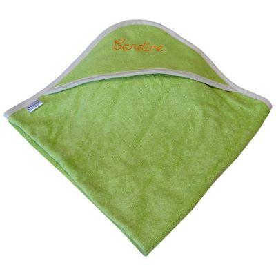 cape de bain bambou all color Vert - personnalisée