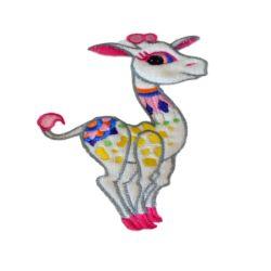Housse matelas à langer Framboise - Girafe
