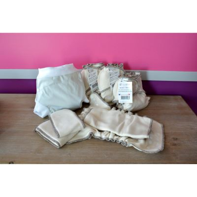 Mini Pack Naissance couche lavable Bébé Coton TS+ Boxer T.S