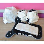 Special Nuit 3 couches lavables Lulu Dodo Chanvre + 1 Shorty TM ou TL Uni ou Imprimé à partir de