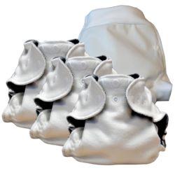 Special Nuit 3 couches lavables Lulu Dodo Chanvre + 1 Boxer T.M
