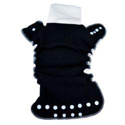 Couche Lavable Lulu Dodo 4/12 kg chanvre -intérieur polaire noir