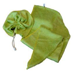 Duo Tawashi/serviette sèche cheveux assorties
