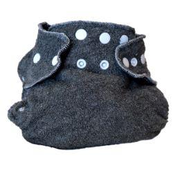 Couche Lavable Dodo Bambou charbon 5/15 kg intérieur polaire noir